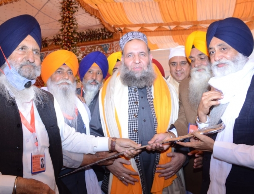 Main ceremony of Guru Nanak 551st Birthday Celebrations was held today at Gurdwara Janam Asthan Nankana Sahib